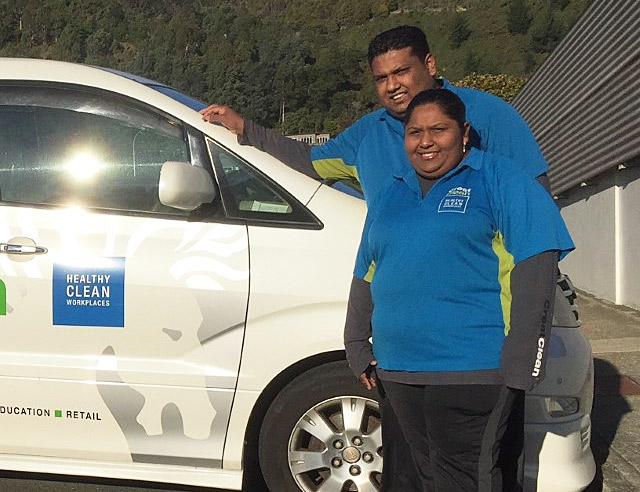 Sameeta Kumar and Nischal Lal are delighted by their move to Nelson.