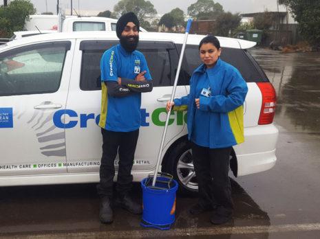Rain or shine, Hardeep Singh and Navdeep Kaur get the job done!