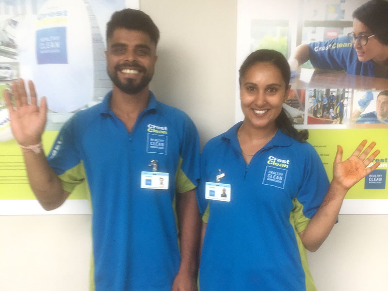 Nishneel Prasad and Ritika Sheelam have joined the Master Cleaners Training Institute.