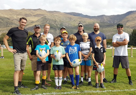 Coaching sessions in Queenstown and Arrowtown took place against a scenic mountain backdrop.