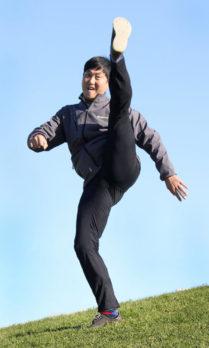 Woo Sung Lee is a Taekwondo master.