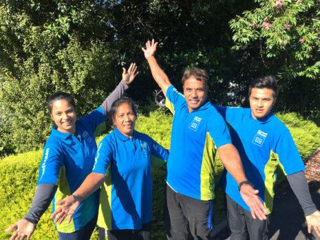 Family franchise: Taatu Taboia, Otiri Taboia,Taboia Uakeanu, and Boata Taboia.