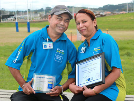 Biren Kumar and his wife Swaran came from Fiji with nothing. Ten years on they are now running a successful CrestClean business.