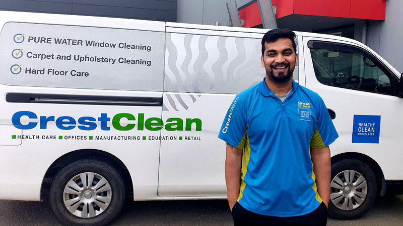 Sam Talwar is an expert in delivering specialist cleaning services.