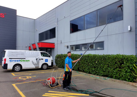 Pure water windows wash CrestClean Palmerston North